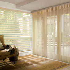 Eclectic Window Treatments by Home Source Custom Draperies & Blinds
