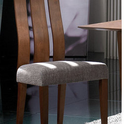 """Gold Sparrow - Julia Side Chair (Set of 2) - The Julia Dining Chair will give any dining room a feel of elegance. Its comfort is accentuated by the sophisticated design of its backrest. A cutaway with its centerpiece slanting less outwards in comparison with the frame acts as an extra support piece for the spine to ensure comfort. Features: -Solid wood and plywood.-Cocoa stained.-Rustico fabric.-Coral finish.-Julia collection.-Collection: Julia.-Finish: Cocoa stained.-Distressed: No.-Powder Coated Finish: No.-Gloss Finish: No.-Frame Material: Solid wood / plywood.-Solid Wood Construction: No.-Scratch Resistant (Scratch Resistant) : No.-Arms Included: No.-Upholstered Seat: Yes -Seat Upholstery Material: Rustico fabric.-Seat Upholstery Color: Coral.-Removable Seat Cushions: No.-Removable Seat Cushion Cover: No.-Tufted Seat Upholstery: No..-Upholstered Back: No.-Swivel: No.-Foldable: No.-Stackable: No.-Number of Legs: 4.-Leg Material: Wood.-Casters: No.-Protective Floor Glides: No.-Adjustable Height: No.-Outdoor Use: No.-Swatch Available: No.Dimensions: -Overall Height - Top to Bottom: 41.54"""".-Overall Width - Side to Side: 18.11"""".-Overall Depth - Front to Back: 21.65"""".-Overall Product Weight: 17.64 lbs.Assembly: -Assembly Required: Yes.-Tools Needed: Allen wrench included.-Additional Parts Required: No."""