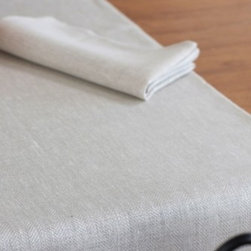 """Origin Crafts - Luke natural/herringbone linen table runners 18x59 - Luke Natural/Herringbone Linen Table Runners 18x59 100% linen. We have a wide collection of 100% linen table runners to suit your decor style, ranging from solid to jacquard,casual to luxurious and contemporary to French country chic. They can be placed along the table or across it, depending on the look that you want to achieve. Beautiful hemstitched edges highlight the sophistication of a linen runner and make it an attractive element in any interior. Dimensions (in): 18"""" x 59"""" By Linen Way - Linen Way is a family-owned wholesale business that sells the finest home textiles, handpicked from around the world. Linen Way offers inspirational products for your life and home in traditional and modern designs. Estimated Delivery Time 1-2 Weeks. Please be aware that some products are handmade and unique therefore there may be slight variations in each individual product."""