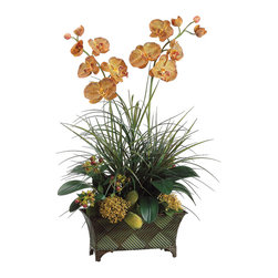 Silk Plants Direct - Silk Plants Direct Orchid and Moss Ball (Pack of 1) - Silk Plants Direct specializes in manufacturing, design and supply of the most life-like, premium quality artificial plants, trees, flowers, arrangements, topiaries and containers for home, office and commercial use. Our Orchid and Moss Ball includes the following: