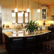 Traditional Kitchen Cabinets by atdesigns