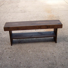 traditional bedroom benches by Etsy