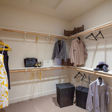 Traditional Closet by fcbhomes