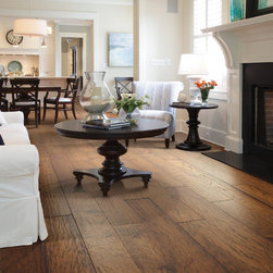 Getting Ready for the Holidays - Beautiful Hardwood floors by Shaw.
