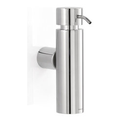 Duo Wall-Mounted Soap Dispenser, Polished