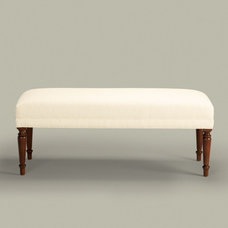 Traditional Upholstered Benches by Ethan Allen