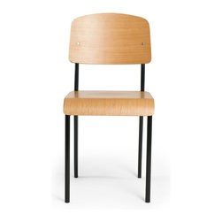 Inmod - Standard Style Chair (Set of 2), Black - Occupying the space where art, architecture, and industrial design meet, there is nothing standard whatsoever about the Standard Style Chair.