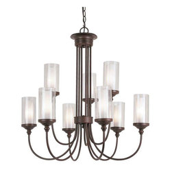 Trans Globe Lighting - Trans Globe Lighting 3929 Chandelier In Rubbed Oil Bronze - Part Number: 3929