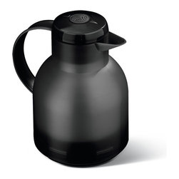 Frieling - Samba Quick Press - Keep your morning coffee or afternoon ice tea at an optimal temperature for hours on end. This wonderfully insulated carafe has a fresh translucent appearance and features a one-touch open/close mechanism.