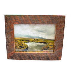 Rustic picture frames find art frames and picture frame - Picture frame without glass ...