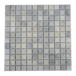 Gold Green Tumbled Quartzite Mosaic Tiles - Arbescato Carrara Marble Made from the highest quality premium Italian marble is strictly selected, consistent in color, sizing and finish. Suitable for commercial and residential projects (Interior as well as exterior surface covering applications) Meets your needs at a very low cost.