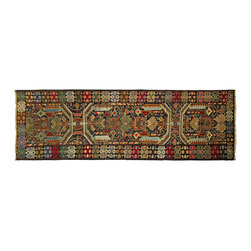 Manhattan Rugs - New Hand Knotted Runner 3' x 10' Geometric Persian Balouch Blue Wool Rug P832 - This is a true hand knotted oriental rug. it is not hand tufted with backing, not hooked or machine made. our entire inventory is made of hand knotted rugs. (all we do is hand knotted)