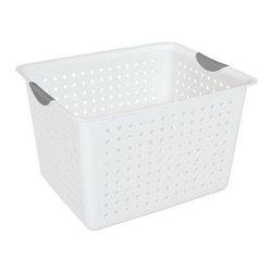 Sterilite - Sterilite Deep Ultra Basket (6 Pack) (16288006) - Sterilite 16288006 Deep Ultra Basket (6 pack)