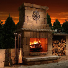 Traditional Outdoor Fireplaces by Woodland Direct