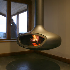 Contemporary Freestanding Stoves by Firemaker