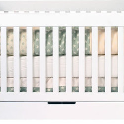 Babyletto Mercer 3-in-1 Convertible Crib - A beautiful and modern crib that easily transitions into a bed. Plus it has storage!
