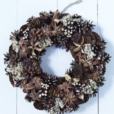 Traditional Wreaths And Garlands by Cox & Cox