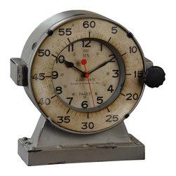 Timeworks By Uttermost - Marine Clock by Uttermost - Marine Desk Clock was designed by Steve Kowalski for Uttermost