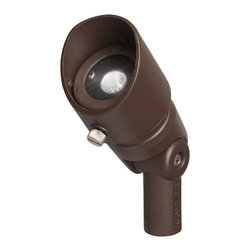 Kichler Lighting - Kichler Lighting 10 Degree 3W LED Outdoor Spotlight X-72TZA00061 - A specification-grade LED fixture collection that features more lumen output packages, Kelvin options, and unparalleled performance.