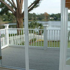 Traditional Porch by New Horizons - Go Retractable