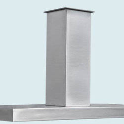 Stainless Hood | Handcrafted Metal - Handcrafted Metal makes custom stainless hoods in a variety of styles. We can make them to perfectly accommodate your kitchen, no matter how complicated. With us you can fully customize the size and features according to your needs and your taste, and the price will be adjusted to your specifications.