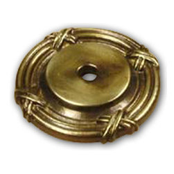 Century Hardware - Solid Brass - Backplate - Polished Antique (CENT18069-PA) - Solid Brass - Backplate - Polished Antique (CENT18069-PA)