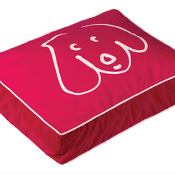 Crypton - Crypton Doodle Dog Pet Bed, Gipsy - This playful pet bed will allow your sweet pup to rest in style. The whimsical design will add a sense of delight to your decor, and the comfortable fabric and cushion is the ticket for best rest. Simple to spot clean, but also fully machine-washable, you'll love the way this bed is both practical and fun.