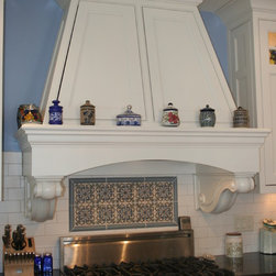 Four-Family Residence to Single-Family Home Remodel - New wood hood