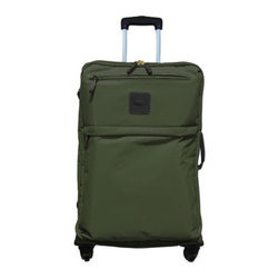 "Bric's - Bric's X-Bag Carry-On Trolley - Whether you're traveling for a day, a weekend, or longer, this lightweight carry-on trolley is ready to get you there in style. Made of polymide nylon. Leather trim. Select color when ordering. Telescopic handle. 14""W x 8""D x 21.5""T. Imported."