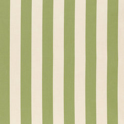 """Ballard Designs - Canopy Stripe Kiwi & Sand Sunbrella Fabric by the Yard - Content: 100% Sunbrella® Acrylic. Repeat: Non-railroaded fabric, 5.19"""" Repeat. Care: Spot clean with mild soap. Width: 54"""" wide. Big bold kiwi and sand stripes woven in washable, easy-care, Sunbrella acrylic.Content: 100% Sunbrella Acrylic. . . . Because fabrics are available in whole-yard increments only, please round your yardage up to the next whole number if your project calls for fractions of a yard. To order fabric for Ballard Customer's-Own-Material (COM) items, please refer to the order instructions provided for each product.Ballard offers free fabric swatches: $5.95 Shipping and Processing, ten swatch maximum. Sorry, cut fabric is non-returnable."""