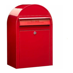 Bobi Mailboxes - USPS Bobi Classic Mailbox, Front Access Lockable, Red - **This listing is for just the mailbox without the mailbox post. There is a separate listing for the set.