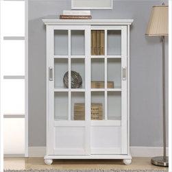 Altra Furniture Bookcase in High Gloss White -