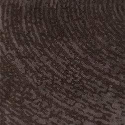 Jaipurrugs - Wool Brown/Gray Daizy Cut Rectangle Area Rug Border Color Liquorice 5' x 8' - Hand-Tufted Lustrous Finish Wool/ Art Silk Brown/Gray Daizy Cut Rectangle Area Rug Border Color Liquorice 5' x 8'.