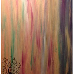 Beautiful Days (Original) by Dakota Wienges - It's a simple piece full of simplicity and color. Just a happy and interesting piece that brightens up any room or day.