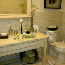 Contemporary Bathroom Vanities And Sink Consoles by Southern Cabinet Works Inc