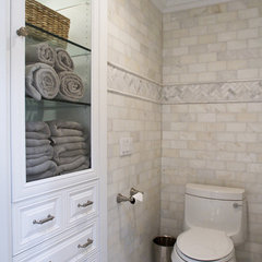 traditional bathroom by Janelle Steinberg Interior Design