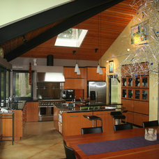 Contemporary Dining Room by Drager Architecture