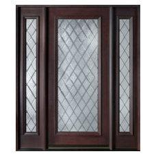 CUSTOM FRONT ENTRY DOORS - SOLID WOOD - Doors for Builders, Inc.   Solid Wood En