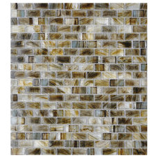 American Olean Visionaire Gentle Earth Glass Mosaic Subway Indoor/Outdoor Wall T