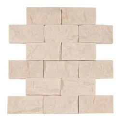 Pearl Brick Travertine Mosaic -