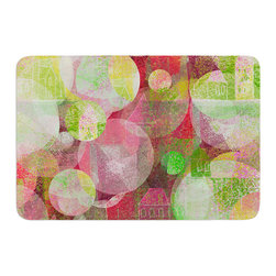 """KESS InHouse - Marianna Tankelevich """"Dream Place"""" Memory Foam Bath Mat (24"""" x 36"""") - These super absorbent bath mats will add comfort and style to your bathroom. These memory foam mats will feel like you are in a spa every time you step out of the shower. Available in two sizes, 17"""" x 24"""" and 24"""" x 36"""", with a .5"""" thickness and non skid backing, these will fit every style of bathroom. Add comfort like never before in front of your vanity, sink, bathtub, shower or even laundry room. Machine wash cold, gentle cycle, tumble dry low or lay flat to dry. Printed on single side."""
