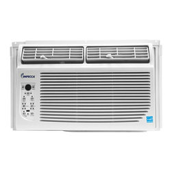 Impecca - Impecca 12,000 BTU/h Energy Star Window Air Conditioner with Electronic Controls - Put climate control at your fingertips with this versatile air conditioner unit featuring electronic controls. This unit includes a clear LED display for easy, precision climate management.