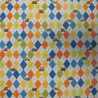 "SheetWorld - SheetWorld Fitted Oval Crib Sheet (Stokke Sleepi) - Argyle Transport Blue - This 100% cotton ""flannel"" oval crib (stokke sleepi) sheet is made of the highest quality fabric that's ""double napped"". That means these sheets are the softest and most durable. Sheets are made with deep pockets and are elasticized around the entire edge which prevents it from slipping off the mattress, thereby keeping your baby safe. These sheets are so durable that they will last all through your baby's growing years. We're called sheetworld because we produce the highest grade sheets on the market today. Features the cutest argyle and baby transport print on a blue background. Size: 26 x 47."