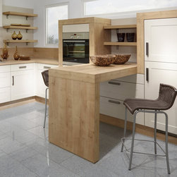 Seating Solutions Kitchen Design Boston - WELL PLACED