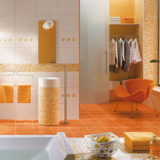 Eclectic Tile by CheaperFloors