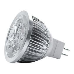 TorchStar - 12V 4W Dimmable MR16 LED Bulb GU5.3 Base, Daylight, 60 Degree - Overview