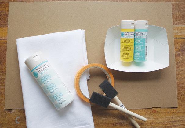 DIY Friday: Painted Dishtowel