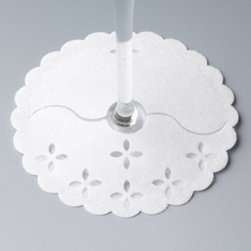 Franmara - Single Stem Wraps Floral Cut Out Design Glass Protector Fabric Pads - This gorgeous Single Stem Wraps Floral Cut Out Design Glass Protector Fabric Pads has the finest details and highest quality you will find anywhere! Single Stem Wraps Floral Cut Out Design Glass Protector Fabric Pads is truly remarkable.
