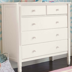 Madeline Dresser - Detailed with artful curves and signature moldings, our Madeline Dresser has sweet, graceful style.