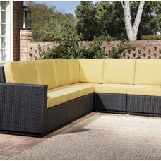 Contemporary Outdoor Sofas by Hayneedle